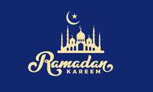 Greeting Card Ramadan Kareem Best New Moon Theme New Look