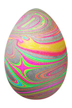 Colorful Easter Egg, Happy Easter
