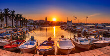 Split, Croatia At Sunrise