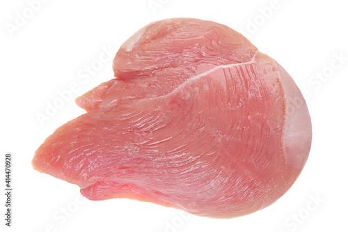 Canvas Print Chicken fillet raw meat