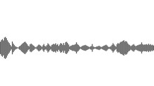 Seamless Sound Waveform Pattern For Music Player, Podcasts, Video Editor, Voise Message In Social Media Chats, Voice Assistant, Dictaphone. Vector Illustration