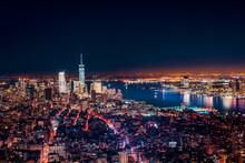 New York By Night - Usa