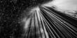 canvas print picture Abstract technical background, Hi-tech communication concept. 3d illustartion