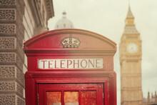London Phone Box - Uk - Europe