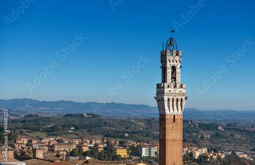 Obraz na plátně Siena Tuscany Italy