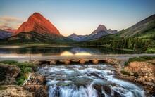 Bridge, Nature, Park, River, Photo, HDR, USA
