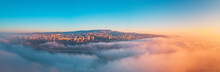 Varna, Bulgaria Cityscape, Aerial Drone View Over The City Skyline