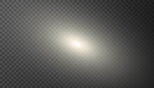 Abstract Elliptical Galaxy Isolated On Transparent Background. Outer Space Object. Template Design For Science Concepts, Flyers Banners, Web Projects.