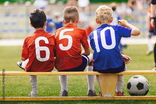 Foto Children in Sports Team