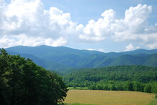 Panorama Landschaft Im Great Smoky Mountains National Park, Tennessee