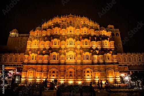 Billede på lærred Hawa Mahal , Jaipur
