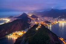 Rio De Janeiro From Sugarloaf Mountain - Brazil