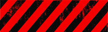Abstract Background With Hazard Stripes