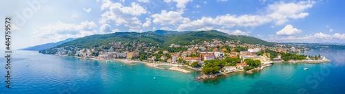 Fototapety, obrazy: Seaside of Croatian town Opatija
