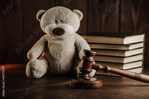 Slika na platnu Divorce and alimony concept