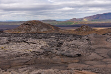 Fumaroles And Mud Pools At Hverir, Iceland