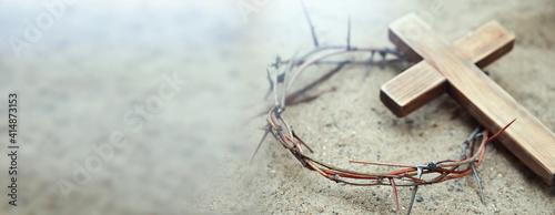 Passion Of Jesus Christ Fototapet