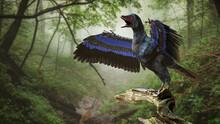 Archaeopteryx, Bird-like Dinosaur From The Late Jurassic Period Around 150 Million Years Ago