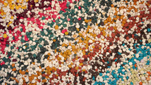 Abstract Multicolored Background With Thousands Of Colorful Pebbles