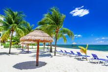Yucatan Peninsula In Mexico - Cancun, Carribean Sea