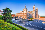 Madrid, Spain - The Cathedral Almudena