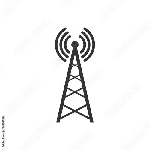 Transmitter antenna icon Fototapet