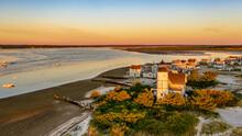 Massachusetts-Cape Cod-Barnstable-Sanndy Neck Light