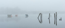 Misty Dawn On Derwentwater
