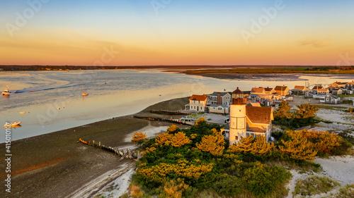 Fotografie, Obraz Massachusetts-Cape Cod-Barnstable-Sanndy Neck Light