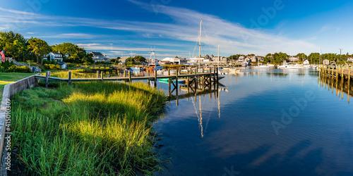 Stampa su Tela Massachusetts-Cape Cod-Harwich-Wychmere Harbor