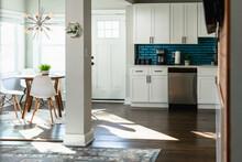 Stylish Residential Home Interior Kitchen