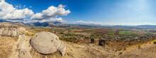 Albania, Vlore County, Finiq, Ruins Of Ancient Greek City Of Phoenice