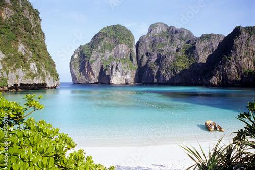 Maya Beach, Ko Phi Phi Island, Phuket, Thailand, Südostasien, Asien