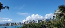 Waikiki Hawaii On A Perfectly Beautiful Day