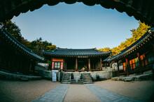 한국 서원 도산서원 가을