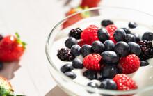 Homemade Yogurt With Fresh Berries