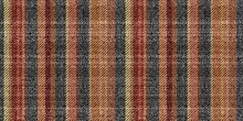 Terracotta Brick Warm Colors Vertical Stripes On Grungy Ragged Gray Background Fabric Texture Of Traditional Gingham Seamless Ornament For Plaid Tablecloths Shirts Clothes Dresses Bedding