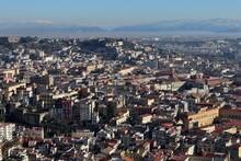 Napoli - Panorama Verso Il Rione Sanità Dal Belvedere San Martino
