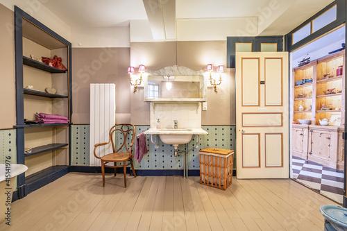 Fotografie, Obraz Chambre et table d'hôte dans ancienne magnanerie - Salle de bain