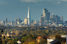London Cityscape From Crystal Palace, London