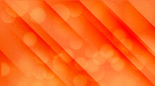 Deep Orange Abstract Modern High Quality Vector Background