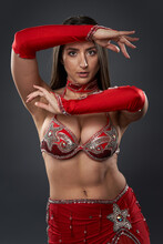 Arabic Lady Belly Dancer