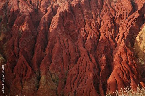 Canvas bauxite, cave bauxite, marte, alieno, paesaggio, acqua, otranto, salento, lago,