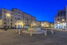Italy, Trieste, Piazza Della Borsa