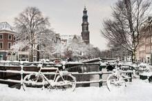 Amsterdam In De Winter, Amsterdam In Winter
