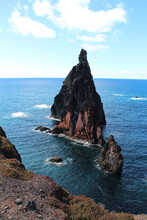 Rocks And Cliff Of Ponta De Sao Lourenco Madeira