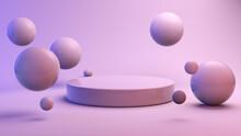 Floating Spheres With Platform
