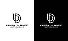Alphabet Letters Initials Monogram Logo UD, DU, U And D