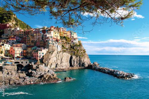 Fotografiet Manarola Cinque Terre