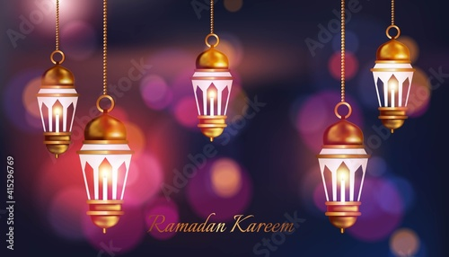 Fotografia islamic background for ramadan and eid mubarak